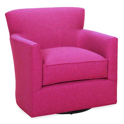 Rowan Swivel Glider Lounge Chair Color: Fuchsia