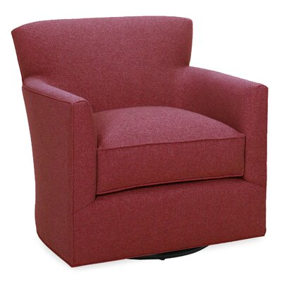 Rowan Swivel Glider Lounge Chair Color: Cherry