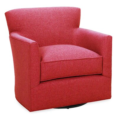 Rowan Swivel Glider Lounge Chair Color: Scarlet