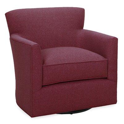 Rowan Swivel Lounge Chair Color: Merlot