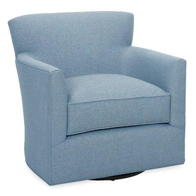 Rowan Swivel Glider Lounge Chair Color: Sky