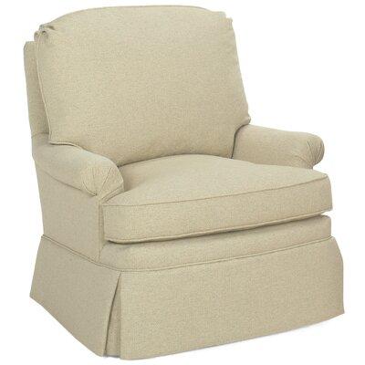 Luca Glider Swivel Armchair Upholstery: Cream