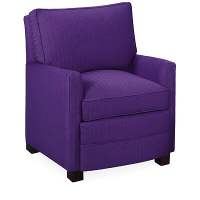 Sawyer Armchair Color: Eggplant