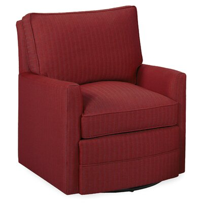 Sawyer Swivel Glider Armchair Color: Cherry