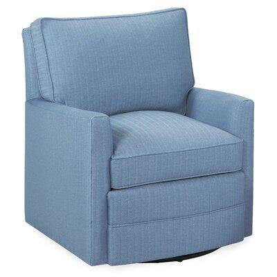 Sawyer Swivel Armchair Upholstery: Sky