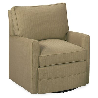 Sawyer Swivel Glider Arm Chair Color: Stone
