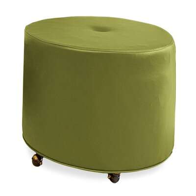 Mondo 24 Upholstered Round 1-Button Ottoman Upholstery: Grass