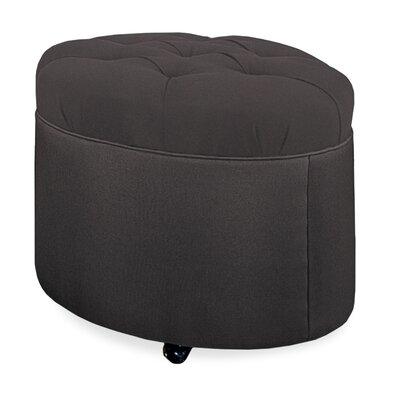 Mondo Ottoman Upholstery: Dark Ash