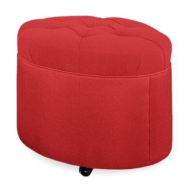 Mondo Ottoman Upholstery: Scarlet