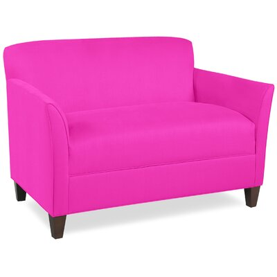 City Spaces Broadway Loveseat Upholstery: Fuchsia