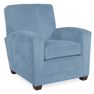 City Spaces Lexington Arm Chair Color: Sky