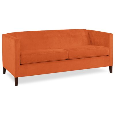 City Spaces 82 Park Avenue Sofa Upholstery: Tangelo