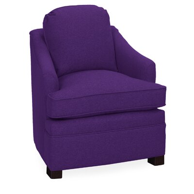 Quinn Lounge Chair Color: Eggplant