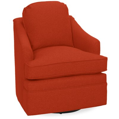 Quinn Swivel Lounge Chair Color: Tangelo