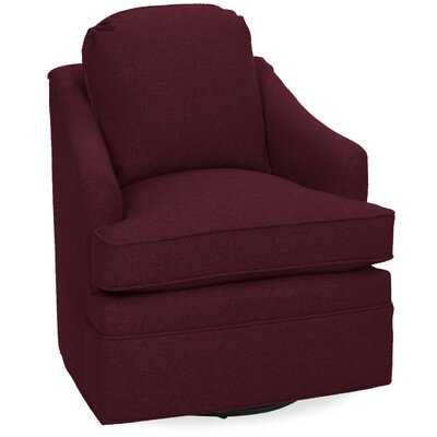 Quinn Swivel Lounge Chair Color: Merlot