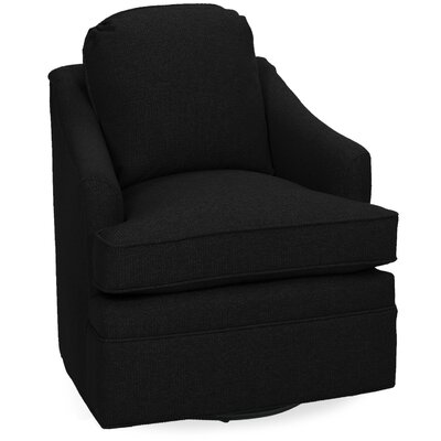Quinn Swivel Lounge Chair Color: Onyx