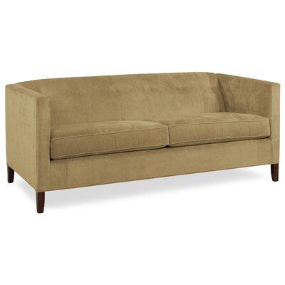 City Spaces 82 Park Avenue Sofa Upholstery: Stone
