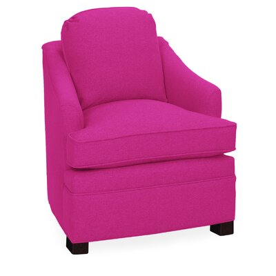Quinn Lounge Chair Color: Fuchsia