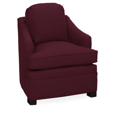 Quinn Lounge Chair Color: Merlot