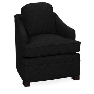 Quinn Armchair Upholstery: Onyx