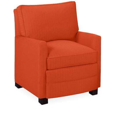Sawyer Armchair Color: Tangelo