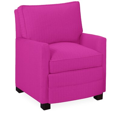Sawyer Arm Chair Color: Fuchsia