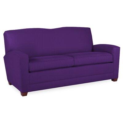 City Spaces 82 Lexington Sofa Upholstery: Eggplant