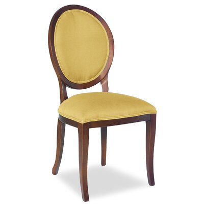 Divine Kayla Side Chair Upholstery: Found Old Gold