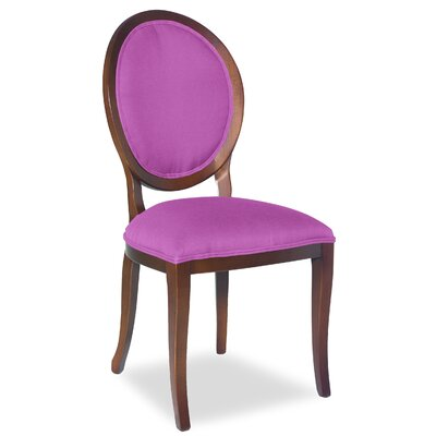 Divine Kayla Side Chair Upholstery: Found Radiant Orchid