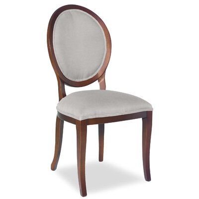 Divine Kayla Side Chair Upholstery: Me Cream