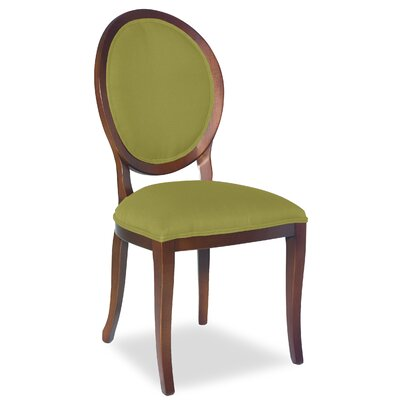 Divine Kayla Side Chair Upholstery: Me Pear