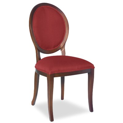 Divine Kayla Side Chair Upholstery: Me Ruby