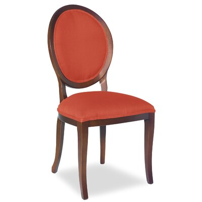 Divine Kayla Side Chair Upholstery: Me Tangerine
