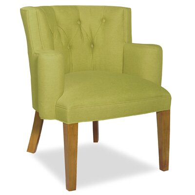 Divine Ginny Arm Chair Upholstery: Me Pear