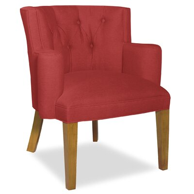 Divine Ginny Arm Chair Upholstery: Me Ruby