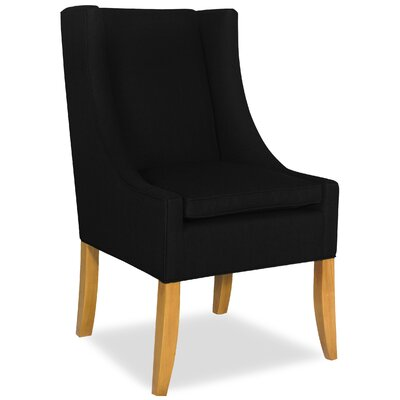 Divine Shirley Parsons Chair Upholstery: Found Black