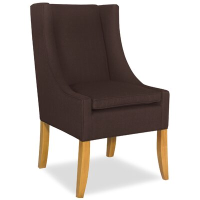 Divine Shirley Parsons Chair Upholstery: Me Chocolate