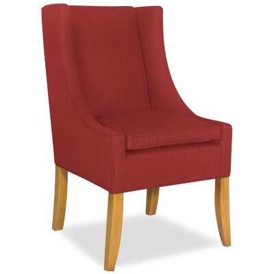 Divine Shirley Arm Chair Upholstery: Me Ruby