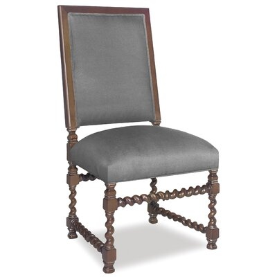 Divine Jordan Side Chair Upholstery: Me Charcoal