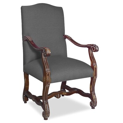 Divine Catherine Arm Chair Upholstery: Me Charcoal