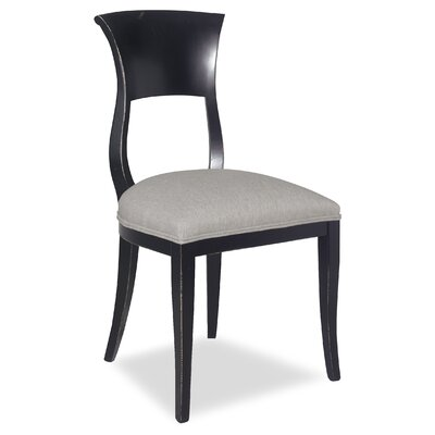 Divine Aaron Side Chair Upholstery: Me Gravel