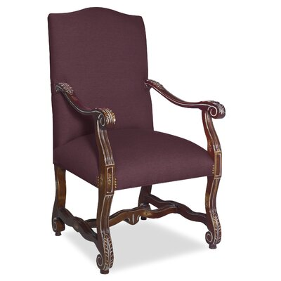 Divine Catherine Arm Chair Upholstery: Me Chestnut