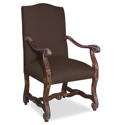 Divine Catherine Arm Chair Upholstery: Me Chocolate