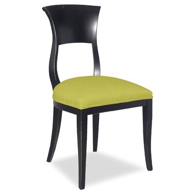 Divine Aaron Side Chair Upholstery: Me Pear