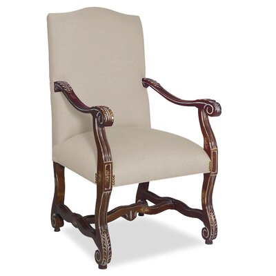 Divine Catherine Arm Chair Upholstery: Me Cream