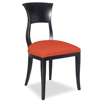 Divine Aaron Side Chair Upholstery: Me Tangerine