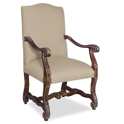 Divine Catherine Arm Chair Upholstery: Me Linen