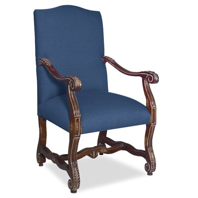 Divine Catherine Arm Chair Upholstery: Me Navy