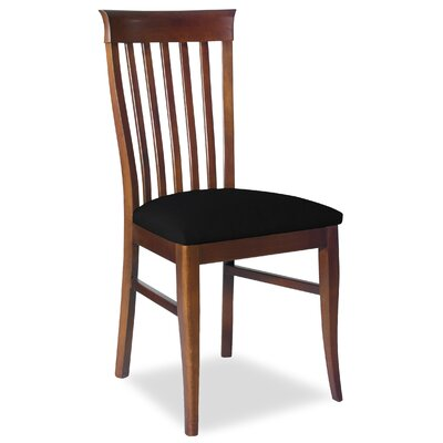 Divine Daniel Side Chair Upholstery: Found Black