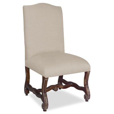 Divine Catherine Parsons Chair Upholstery: Me Cream